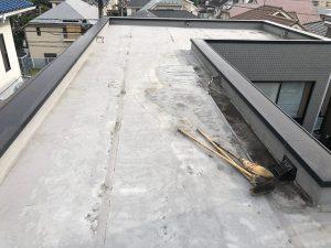 渋谷区屋上防水1015