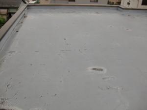 品川区 集合住宅 ウレタン防水 施工前2写真