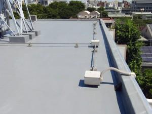 世田谷区集合住宅屋上防水工事  FRP防水 施工完了06写真