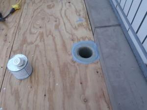 相模原市エントランス屋根防水10