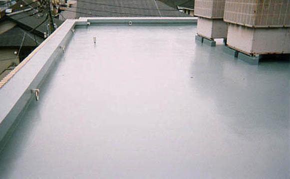 ウレタン防水通気緩衝工法