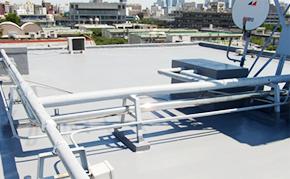 屋上防水:施工後